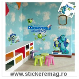 Sticker decorativ Monster Academy