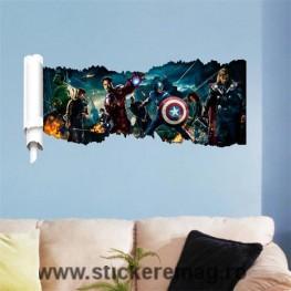 Sticker decorativ Avengers