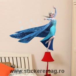 Sticker decorativ Elsa Frozen