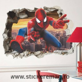 Sticker decorativ 3D Spiderman