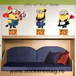 Sticker decorativ Minions