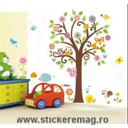 Sticker decorativ autocolant pentru camera copilului