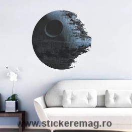 Sticker decorativ autocolant Star Wars Death Star