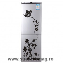 Sticker decorativ frigider 50x140 cm