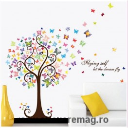 Sticker perete decorativ dream fly