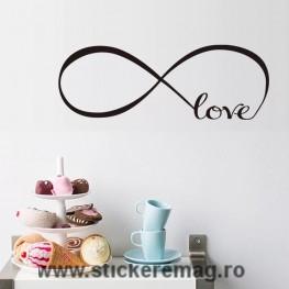 Stickere iubirea infinita